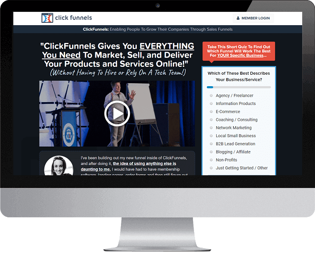 Get your FREE 14-Day ClickFunnels Trial...